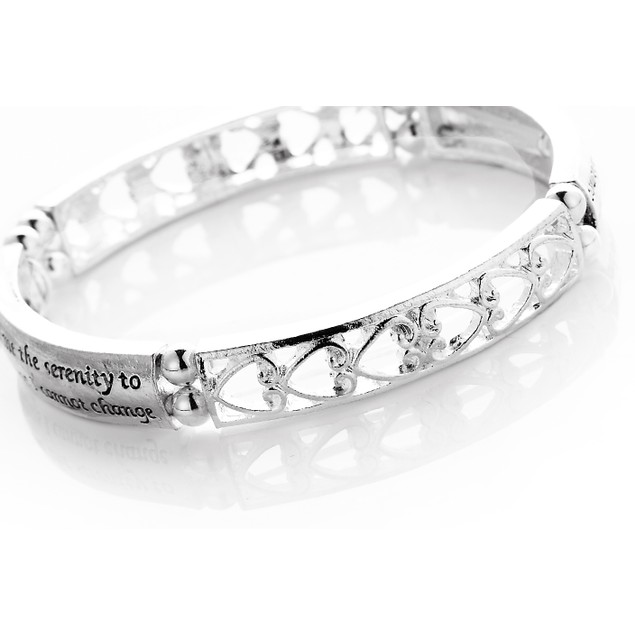 Serenity Prayer Engraved Bracelet