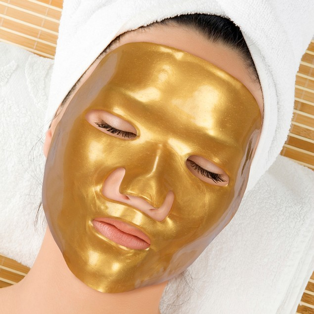 3-Pack Gold Collagen Masks