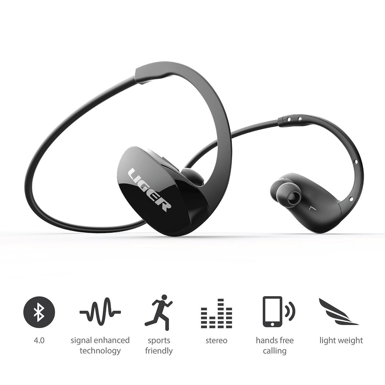 d387088fe1f ... Liger XS900 Wireless Bluetooth 4.1 Headphones Noise Cancelling  Headphones ...