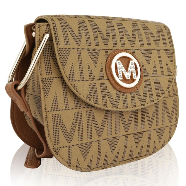 MKF Collection Paola Milan M Signature Cross Body Bag by Mia K Farrow