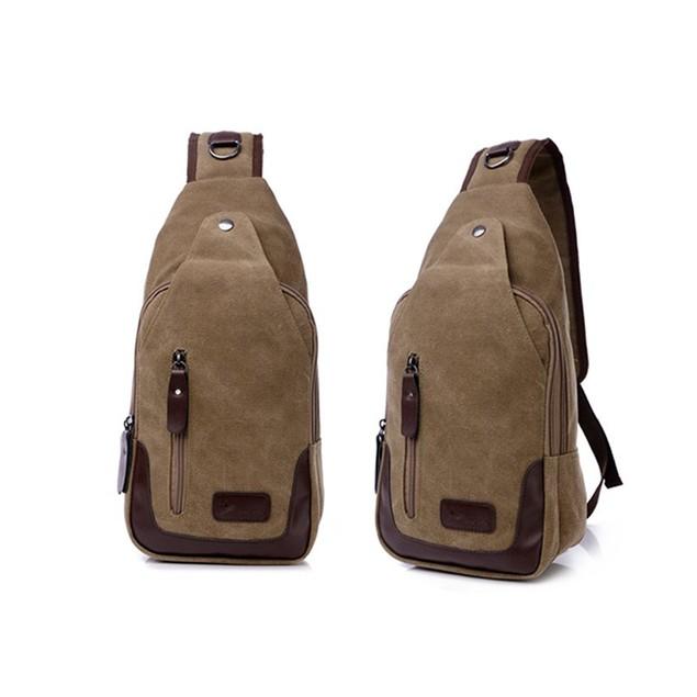 Valencia Canvas Shoulder Sling Bag