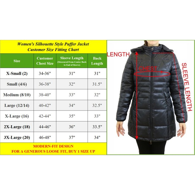Galaxy by Harvic Women's Quilted Long Puffer Jacket