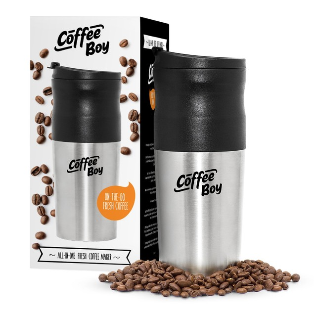 Coffee Boy All-in-One Portable Coffee Maker
