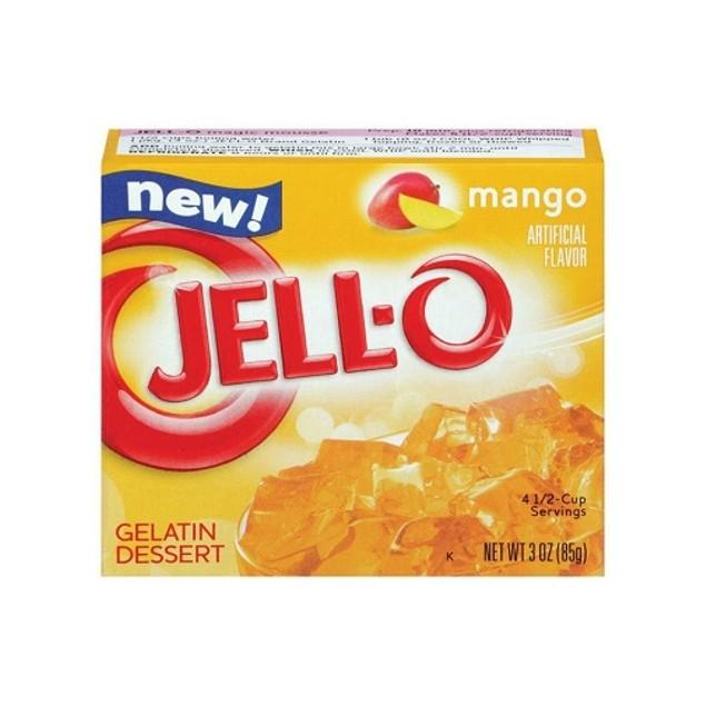 Jell-O Mango Instant Jello Gelatin Mix