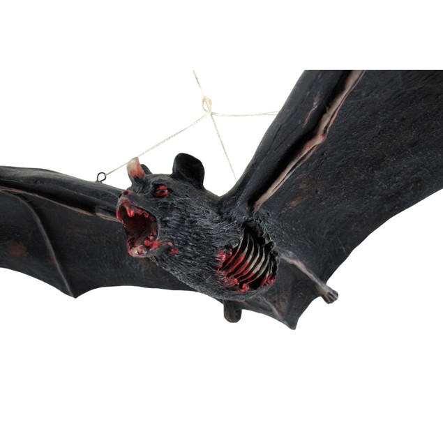 Cool Decomposing Vampire Bat Hanging Figure Statues
