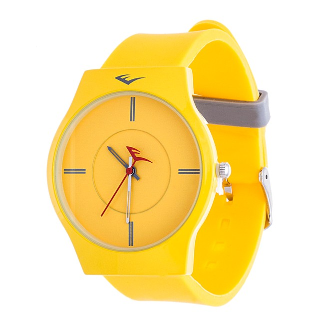 Everlast Analog Monochrome Sports Watch - Yellow