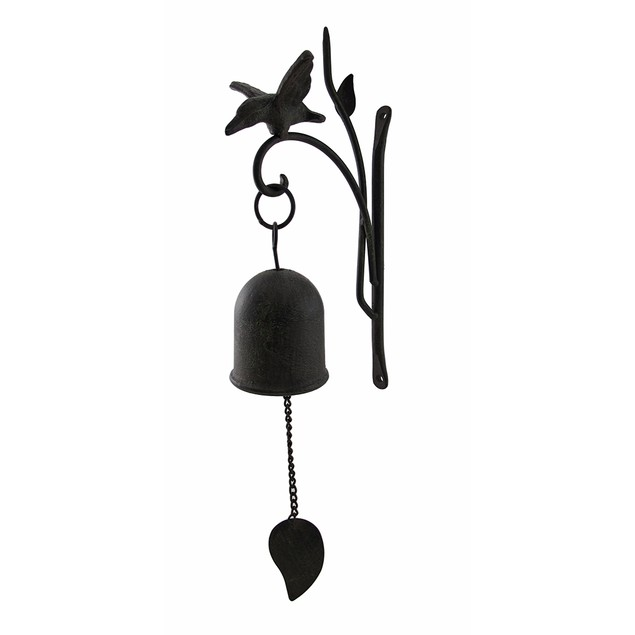 Aged Finish Cast Iron Decorative Hanging Wall Sculptures