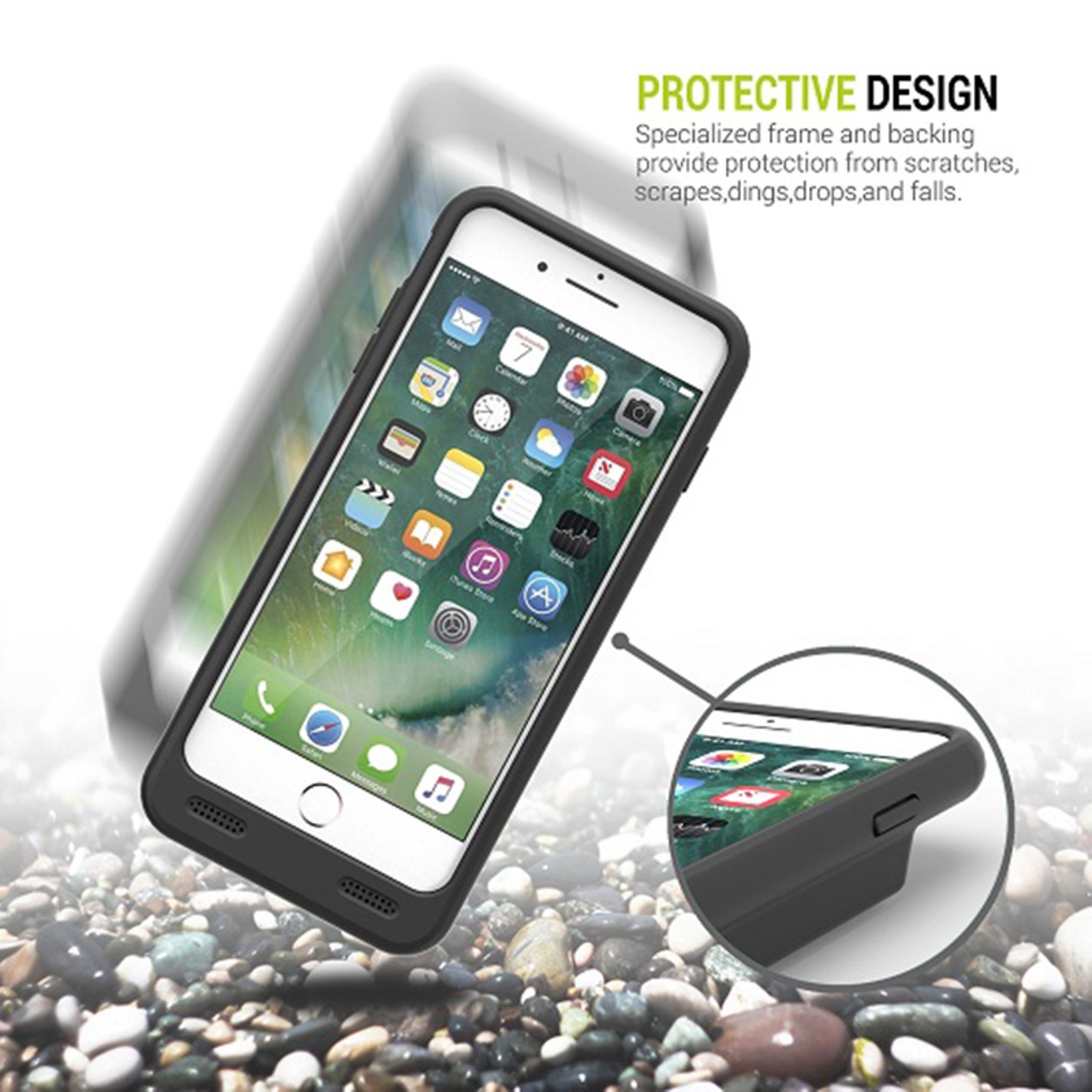 new styles 948af 927da 10000mAh Battery Case for iPhone 7 Plus - Tanga