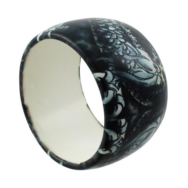1 3/4 Inch Chinese Dragon Bangle Bracelet Womens Bangle Bracelets