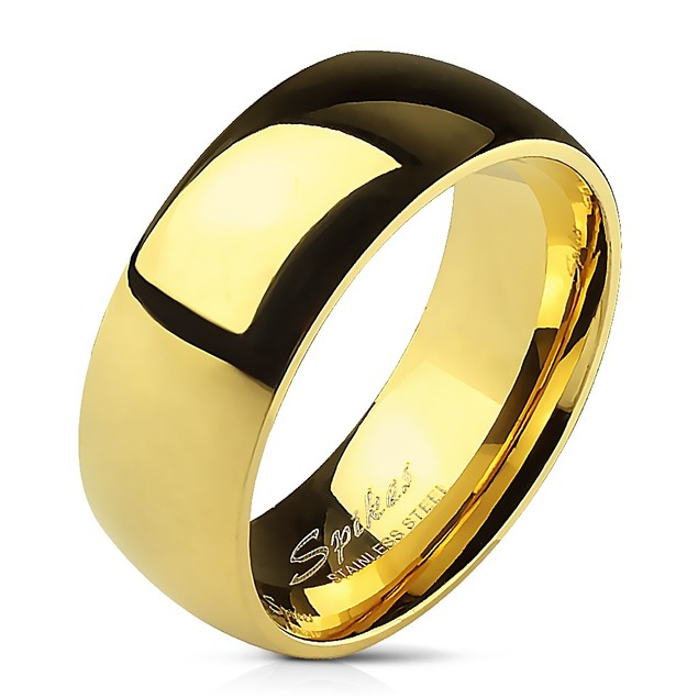 Men's Stainless Steel 6mm 316L Comfort Band Ring