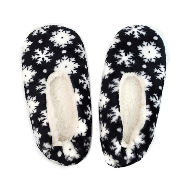 2-Pack Women's Warm & Cozy Indoor Non Slip Grip Slipper