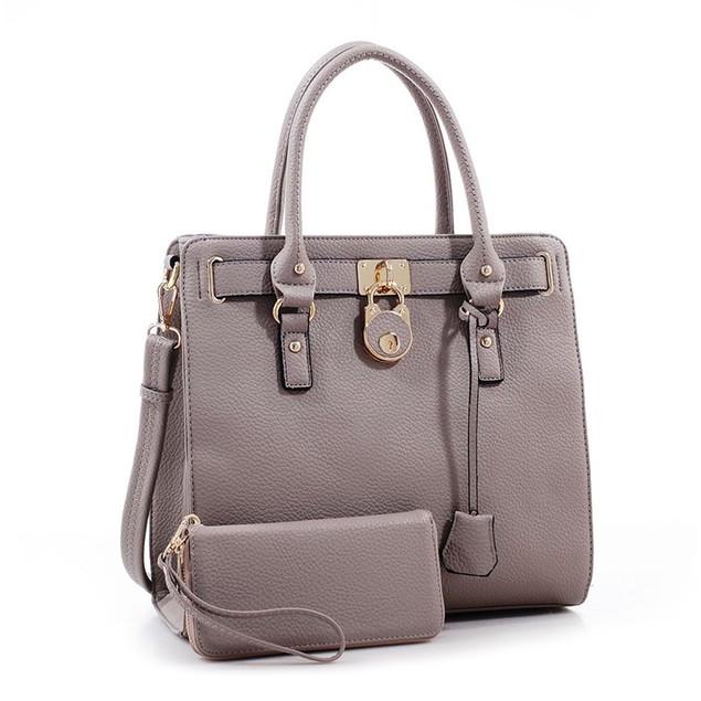 MKF Collection Beautiful Handbag With Matching Wallet