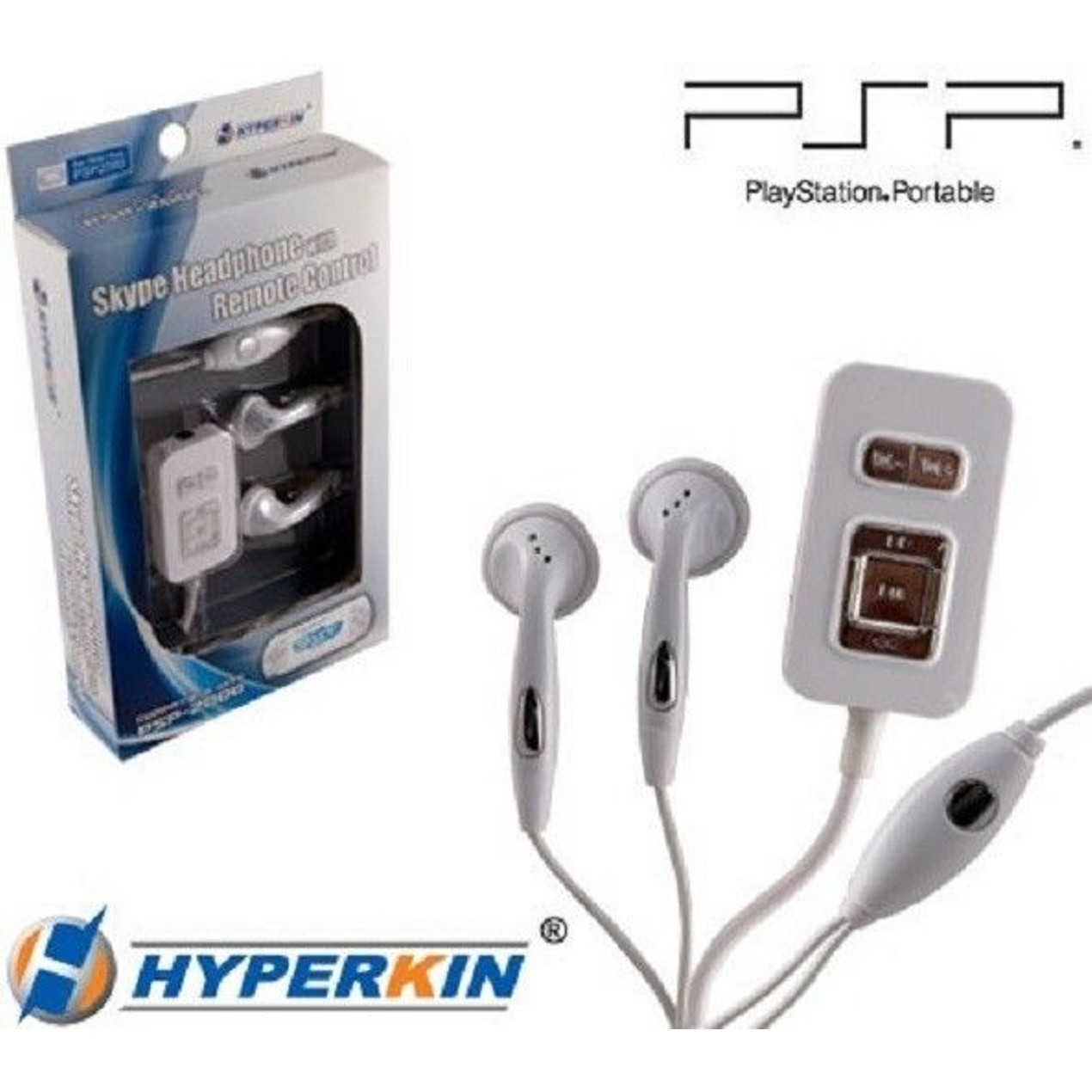 PSP Skype Headphones with Remote Control - Tanga