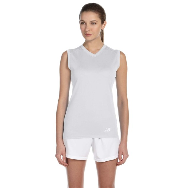 2-Pack New Balance Women's Performance Sleeveless V-Neck T-Shirt