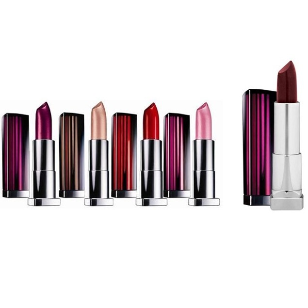 4-Pack Assorted Maybelline New York Color Sensational Lipcolor