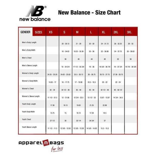 2-Pack New Balance Men's Cotton Short Sleeve T-Shirt Mystery Deal
