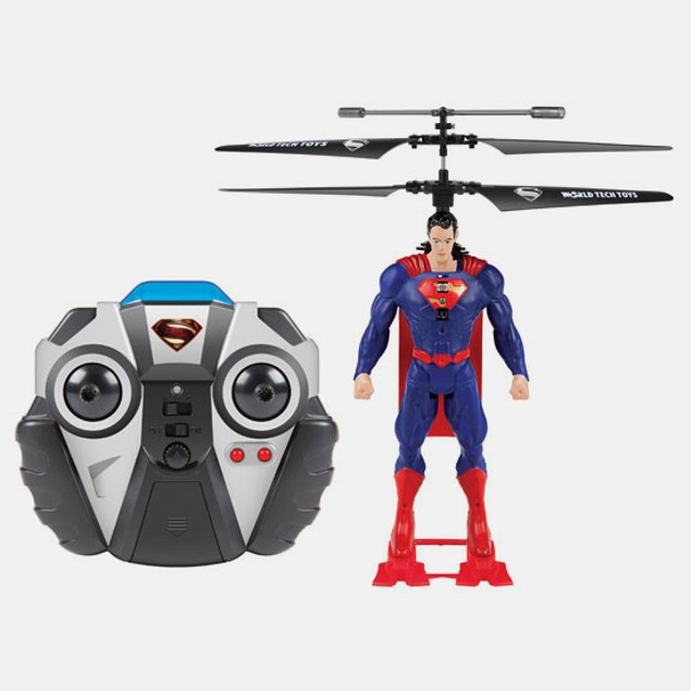 World Tech Toys Superman 2CH IR RC Helicopter