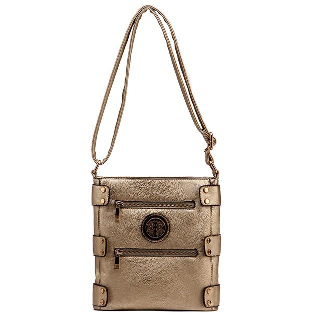 MKF Collection Adriana Cross-Body Shoulder Bag by Mia K.