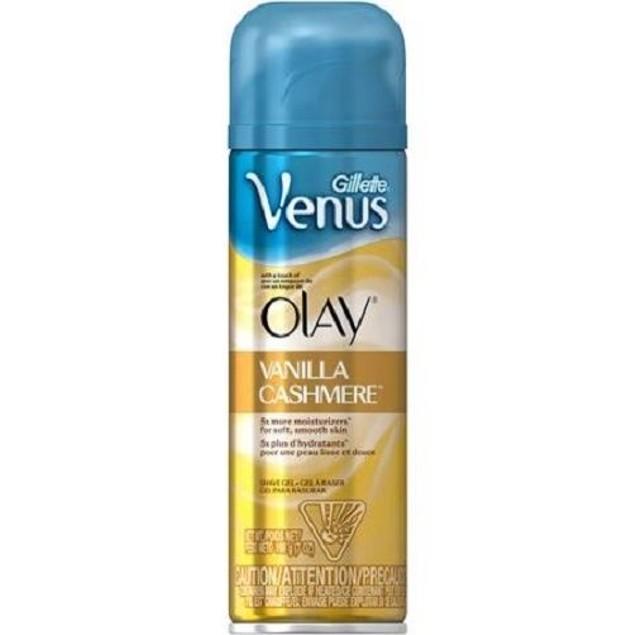 Gillette Venus Olay Vanilla Cashmere Shave Gel