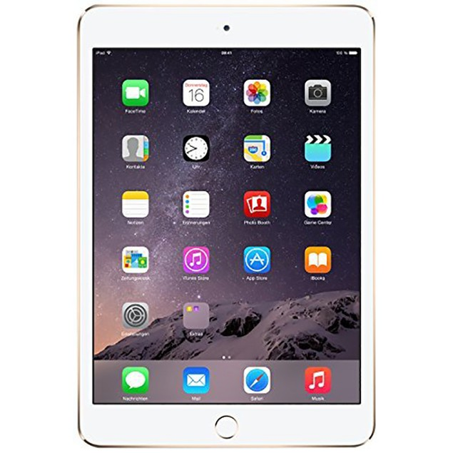 Apple iPad Mini 3 with Retina MGY92LL/A (64GB WiFi Gold) - Grade B