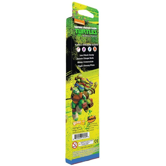 Teenage Mutant Ninja Turtles Smencils - 12 Scented Pencils