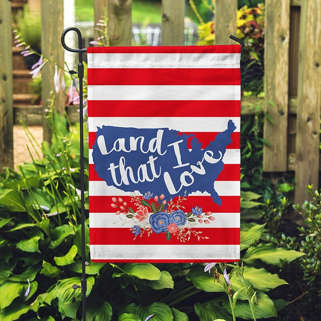 Over 30 Designs Garden Flags