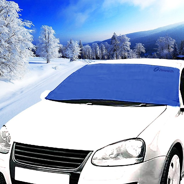Zone Tech Car Winter Windshield Snow Cover Summer Windshield Sun Shade