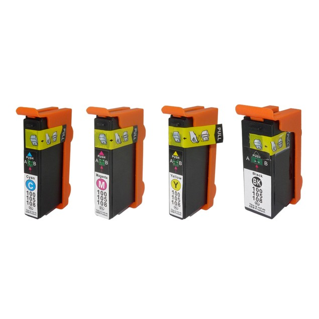Lexmark 100XL Compatible Ink 4-Pack