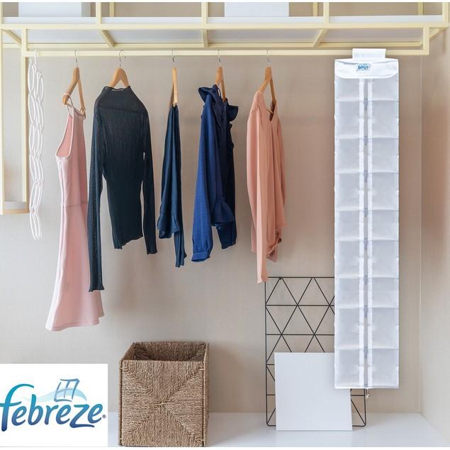Febreze Closet Renewables Premium 12-Inch Shoe Organizer Bag Refresher