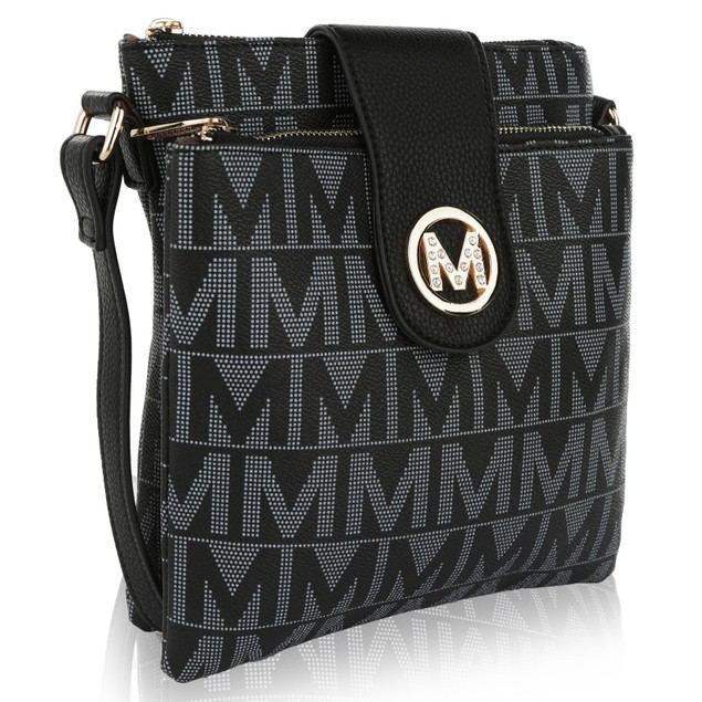 MKF Collection Denizli Milan M Signature Cross Body Bag by Mia K