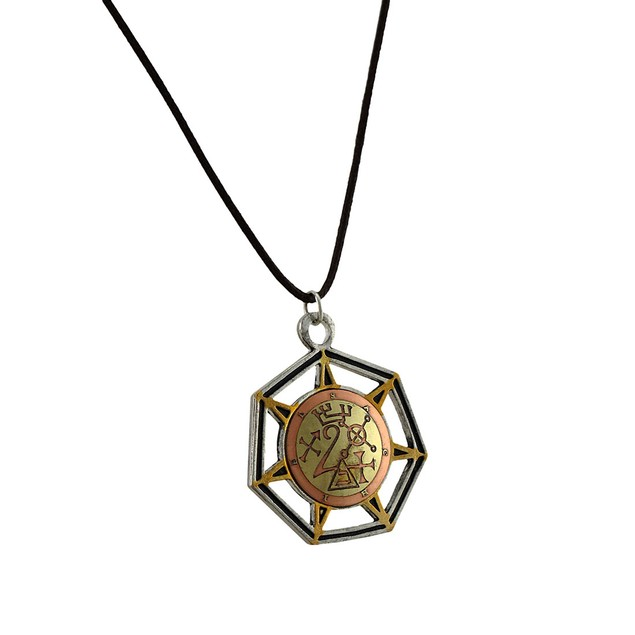 Satchel, Angel Of Jupiter Medieval Magick Success Mens Pendant Necklaces