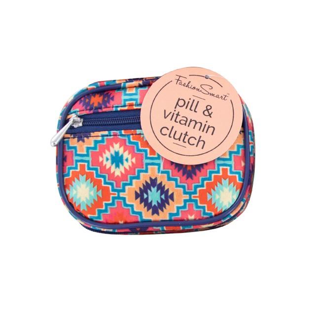 Fashion Smart Pill and Vitamin Clutch