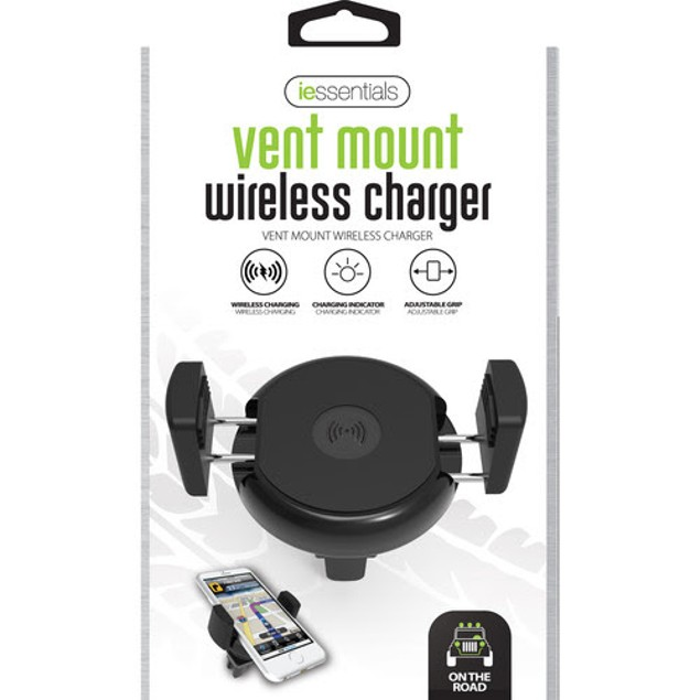 Qi Enabled Wireless Charging Universal Air vent Mount Holder