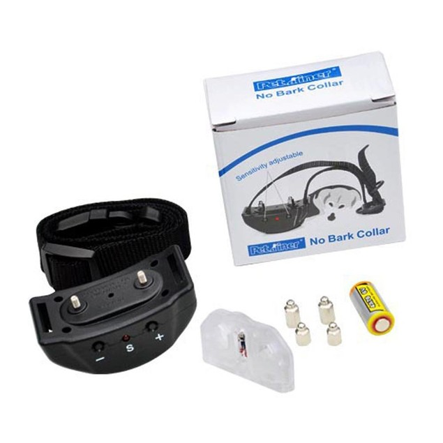 Anti Bark Collar Training, Electric No Bark Shock w/ 7 Sensitivities