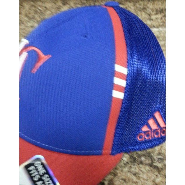 """Los Angeles Clippers NBA Adidas """"2 Tone Mesh Back"""" Flex Fitted Hat"""