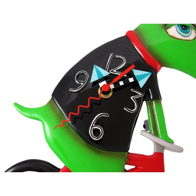Allen Designs `Ride Big Bike` Dinosaur Bicycle Wall Clocks
