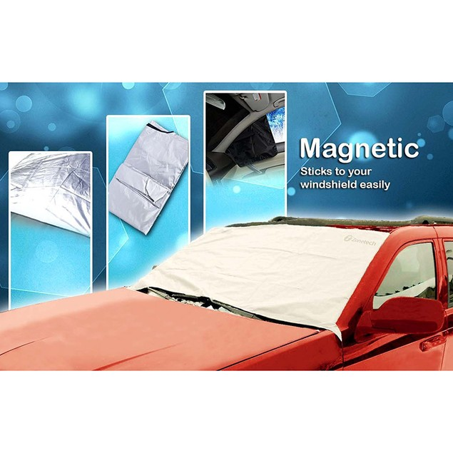 Zone Tech Car Winter Snow Windshield Cover