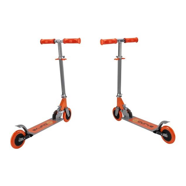 Curve Folding Metal Kick Scooter