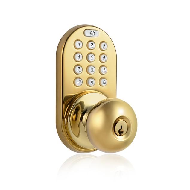 MiLocks Electronic Keyless Entry Door Lock with Back-lit Touchpad