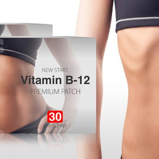 New Start Vitamin B12 & Guarana Slimming Patches - 30 or 60 Count