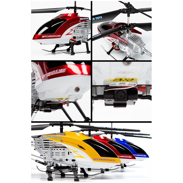 3.5ch Spy Hercules Unbreakable Remote Control Gyro Helicopter