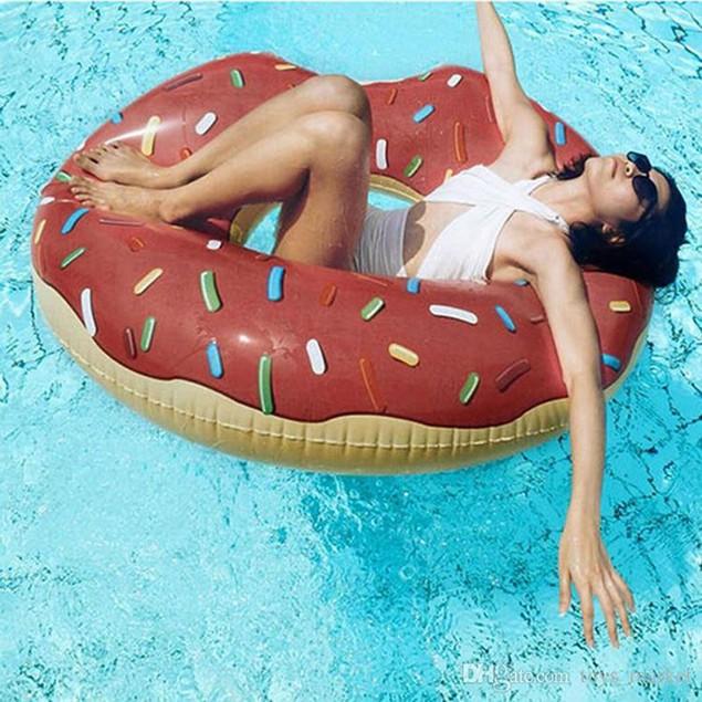 Gigantic Donut Pool Float- 2 Styles