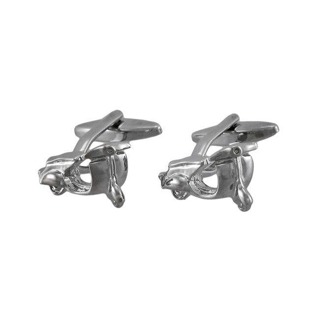 Chrome Plated Scooter Cuff Links Cufflinks Mod Mens Cuff Links