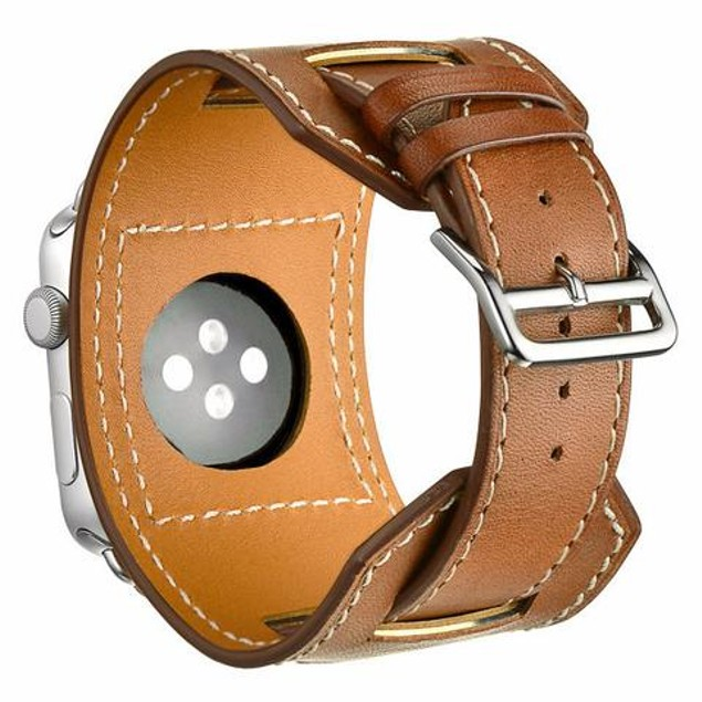 iPM Genuine Leather Cuff for Apple Watch