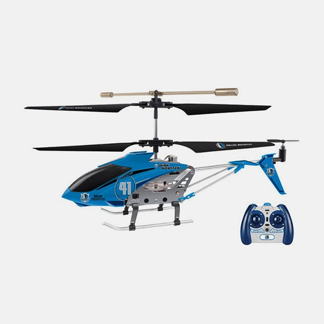 NBA Licensed Dallas/Dirk Nowitzki RC Helicopter