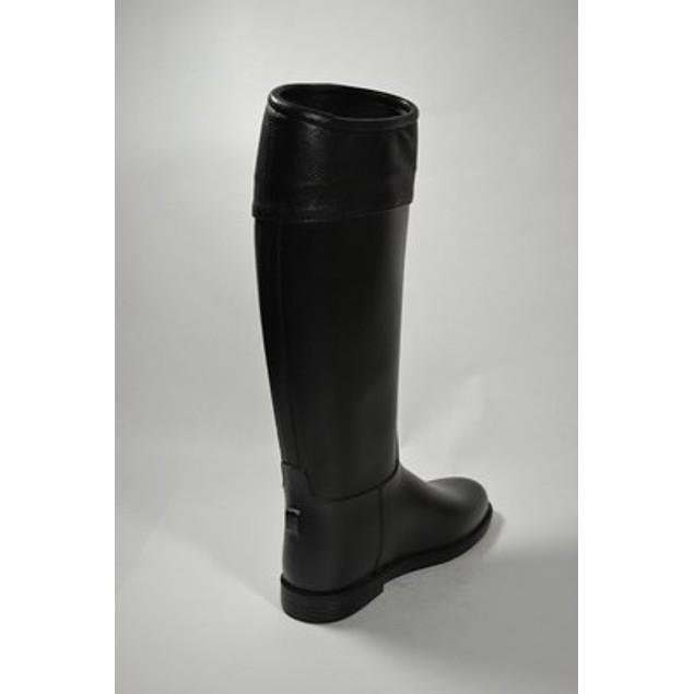 Equestrian Waterproof Riding Fashion Boots - Black