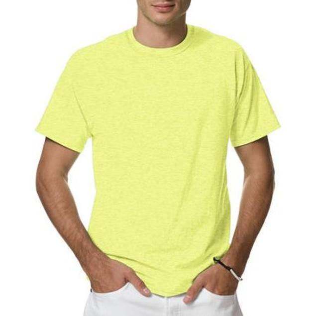 3-Pack: Hanes Men's X-Temp Crew Neck T-Shirt (M-2X)