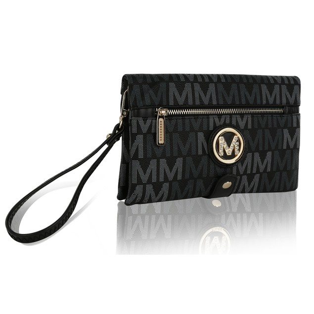 MKF Collection Alexia M Signature Wristlet by Mia K.
