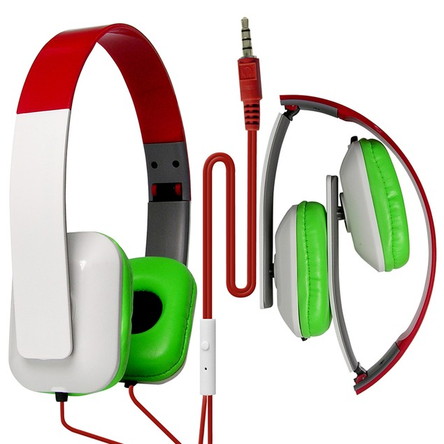 DJ Style Over the Head Headphones - Square Design