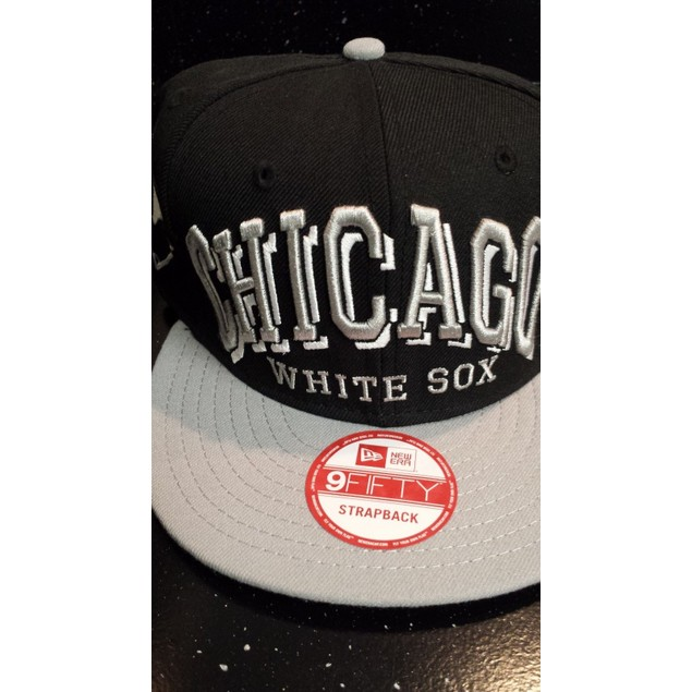 "Chicago White Sox MLB New Era 9Fifty ""Mark"" Strap Back Hat New"